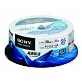 Sony Blu-ray Discs BD-R 25GB 6X 25 Spindle (2011)