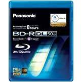 Panasonic LM-BRU 50 MAE read/write blu-ray disc (BD)
