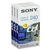 Sony E 240 CD Video cassette - Confezione da 3