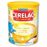 Cerelac Nestl? Cerelac Infant Cereals Rice and Maize 400 g (Pack of 4)
