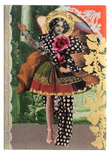 Christian Lacroix Arty notebook, 14,9x 21cm, 128pagine a righe (31105) Les Anges Baroques Multicolored