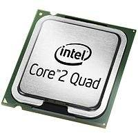 Intel ® Core™2 Quad Processor Q6600 (8M Cache, 2.40 GHz, 1066 MHz FSB) 2.4GHz 8MB L2 processor - processors (2.40 GHz, 1066 MHz FSB), Intel Core 2 Quad, 2.4 GHz, LGA 775 (Socket T), 65 nm, 1066 MHz, Intel Core 2 Quad Q6000 series)