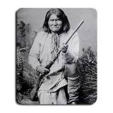 MYDply Geronimo Indian Large Mousepad Mouse Pad Great Gift Idea By mydply