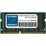 GLOBAL MEMORY 512MB PC100 100MHz 144-PIN SDRAM SODIMM MEMORIA PER CLAMSHELL/SNOW IBOOK G3 & POWERBOOK G3/G4