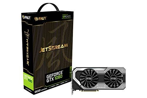 Palit GTX 1080 JetStream Scheda grafica da 8 GB, VGA, Nero