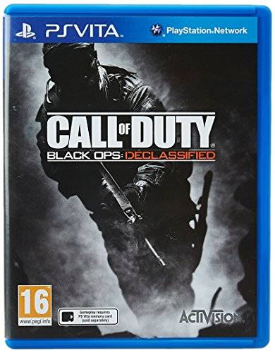Activision Call of Duty: Black Ops Declassified, PS Vita