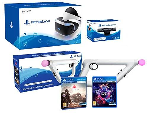 Sony PlayStation VR + Farpoint + Aim-Controller PS4 + PS4 Camera V2 - VR Pack
