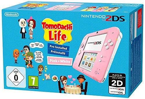 Nintendo 2DS pink incl. Tomodachi Life