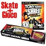 ACTIVISION VIDEOGIOCO TONY HAWK SHRED + TAVOLA SKATEBOARD SKATE PER PLAYSTATION 3 PS3 ORIGINALI