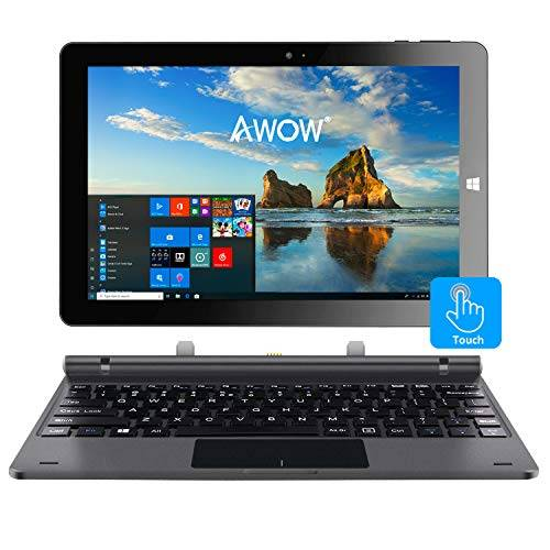 AWOW 2-in-1 Tablet PC Laptop Windows 10 AWOW SimpleBook include Keyboard (Win10 2-in-1 Tablet 4GB 32GB SimpleBook)