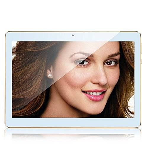 kivors® Tablet (10pollici IPS) 2GB RAM 32GB ROM 3G phablet Android 4.42Wi-Fi OTG con offerte speciali oro gold