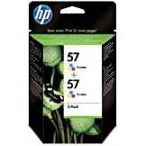 HP C9503AE NR. 57 DJ 5500 2PACK Inkjet / getto d'inchiostro Cartuccia originale