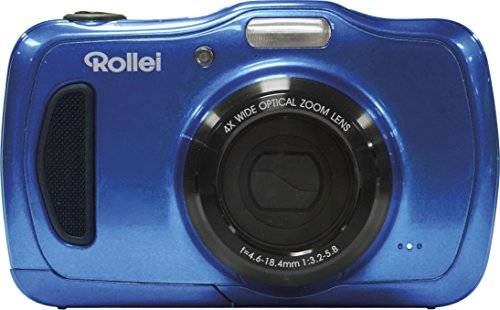 RCP-Technik GmbH & Co. KG Rollei Sportsline 100 Compact camera 20MP 5152 x 3864pixels Blue - digital cameras (Compact camera, 20 MP, 5152 x 3864 pixels, 5152 x 3864, 3264 x 2448, 2592 x 1944, 2048 x 1536, 640 x 480, EXIF,JPG, 4x)