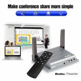 MiraBox Wifi VGA HDMI Presenter MirrorLink Display per Windows 8/10,Mac OS, iOS10/iOS9 AirPlay,Android OS Miracast,Cast Allshare,Screen Mirroring,Home Theater,Proiettore, HDTV (282)