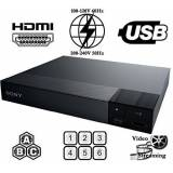 Sony bdp-s1700 Lettore multi zona Region Code free blu ray - DVD - CD Player - PAL/NTSC - Worldwide Voltaggio 100 ~ 240 V - 1 USB, 1 HDMI, 1 coassiale, 1 ethernet connessioni + 6 Feet HDMI Cable included.