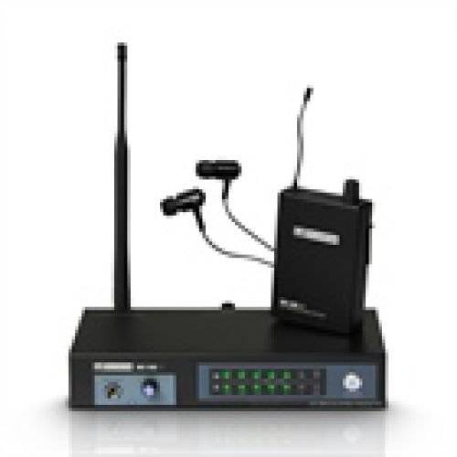 LD Systems 'LD Systems ldmeione1Mei One in Ear Monitoring System Wireless 863,700MHz NERO