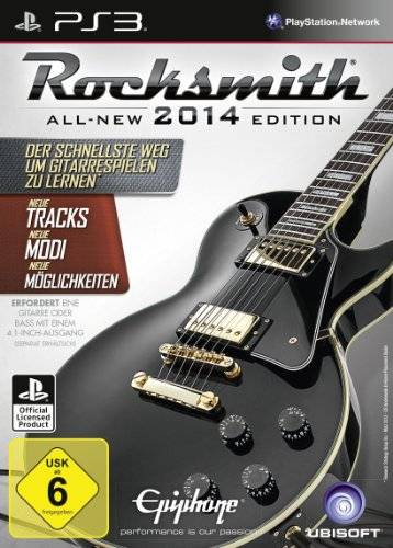 UBI Soft Ubisoft Rocksmitch 2014 Edition video games (PlayStation 3, Music, UBISOFT, T (Teen), German, Basic)