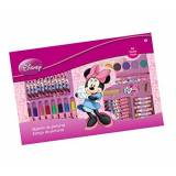 Color Baby Fantasy AS4555-Valigetta pitture 53 pzs in scatola Minnie Mouse