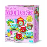 4M Mini Tea Set da decorare