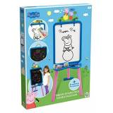 Peppa Pig double face cavalletto con accessori
