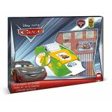 Noris 631 8823 Cars, Windowbox- Set adesivi, 7 timrbi, 12 colori, libro da colorare