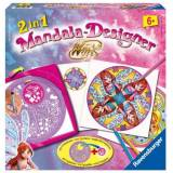 Ravensburger 29732 - 2in1 Mandala Designer Winx Club