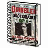 Harry Potter SR72236 Quibbler Undesirable no 1 Wiro notebook (A5)