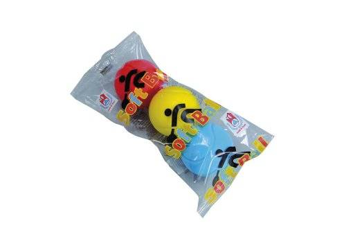 Simba 107354316 Blue,Red,Yellow 3pc(s) - tennis balls (Blue, Red, Yellow, Child, Polybag)