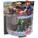 Together Plus YOSHI Draghetto DRAGO Modellino 12cm KART Pull-Back RACER Retrocarica ORIGINALE Super Mario NINTENDO