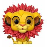 Funko - Lion King Pop Vinile Simba Leaf Mane, 20094