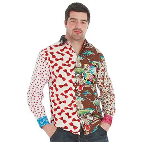 AFG Media Morph Costume Co - Camicia multicolore, taglia: S
