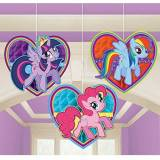 Amscan International 295513 My Little Pony kit decorazione a nido d' ape