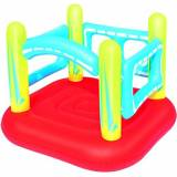 Bestway 52182 - Play Center Bouncer, Rosso, 157 x 147 x 119 cm