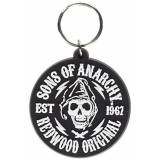Sons of Anarchy Redwood Original Rubber Keychain