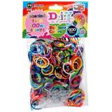 DIY 600 Count Scented Rainbow Color Loom Bands Refill Pack