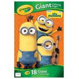 Crayola Giant Coloring Pages-Minions