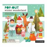 Petit Collage Pop-Out, Winter Wonderland by Petit Collage