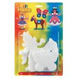 Hama Pegboard Blister Princess/Horse/Butterfly by Hama