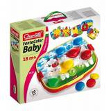 Quercetti 04412 - Gioco Fantacolor Baby XL Rounded Pegs