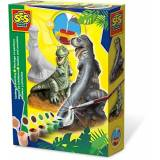 Creative SES-Creative 1283 Trex in Gesso