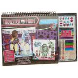 Grandi Giochi FA64029 - Fashion Angels, Monster High Fashion Portfolio Set