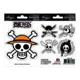 Abystyle One Piece Sticker Set: Pirate Flags