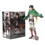 Banpresto Attack on Titan Master Stars Piece 49088 24,1 cm Levi Ackerman Action Figure