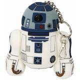 Star Wars Joy Toy Star Wars 741018 - R2-D2 Portachiavi in Peluche, 12 cm