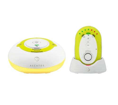 Alcatel ATL1408263 Baby Link 200 Baby Monitor Audio Digitale, Multicolore