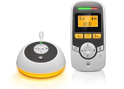 Motorola Baby monitor Audio Digitale con Timer - MBP161 - Bianco