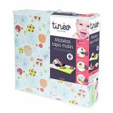 Tineo 603611 baby mattress - baby mattresses (Multicolour, Cotton, PVC, Polyester, France)