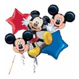 Anagram IRPot - BOUQUET PALLONCINI TOPOLINO MICKEY MOUSE KIT N2 CENTROTAVOLA COMPLEANNO