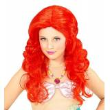 Widmann 74969-Parrucca bambini sirena, One size