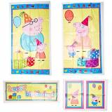 AMSCAN Peppa Pig Scene Setter (5 Total Pieces) by Amscan